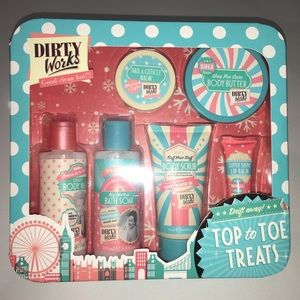 Other - Dirty Works Top to Toe Treats Gift Set