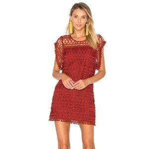 [Tularosa] Clayton Crochet Tunic Dress