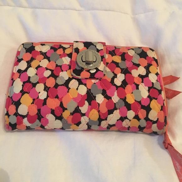f922f97dee Vera Bradley Turn Lock Wallet - Pixie Confetti. M 5a0e109ef739bc8f6504f78b.  Other Bags ...