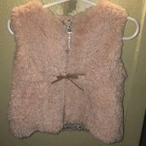 Lightly worn Blush Pink vest for Baby Girl 💗