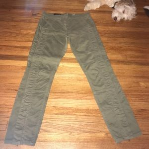 J. Crew olive green pants