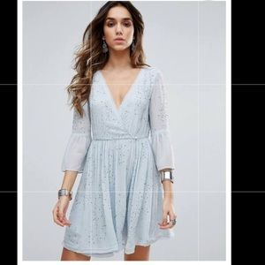 Free People NWOT winter Solstice party dress 4