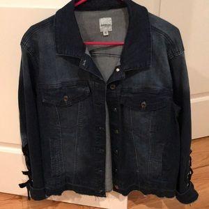 Kensie denim jacket size medium