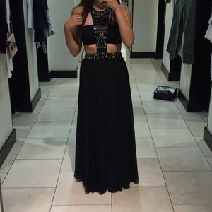 Bebe two piece Gown