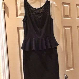 LBD with sexy lace details