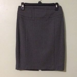 Grey Pencil Skirt from Express // Size 2