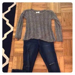 Alice and Olivia Scoop Knitted Sweater