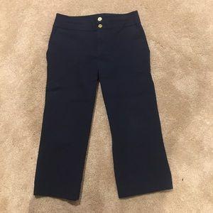 Ralph Lauren Navy Blue Capris