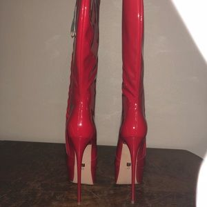 5wqf1ttng Knee Red Poshmark Boots Nwt Giaro High Shoes x0xRq4w