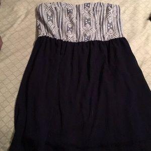 Target strapless summer dress
