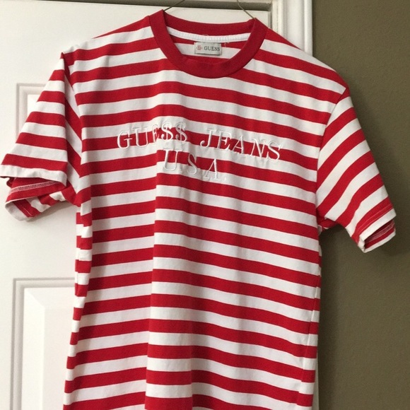 4d31158e3b904b Guess Other - Guess x A AP Rocky Red Stripes T-Shirt