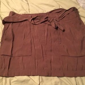 Old navy bow belted skirt