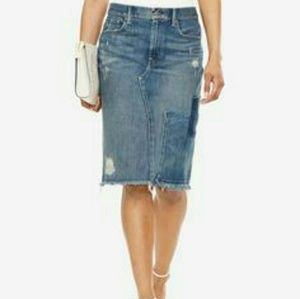 Ralph Lauren denim pencil skirt
