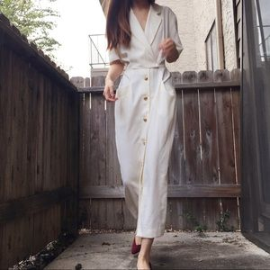 Vintage 80s' gorgeous maxi dress by Casual Corner