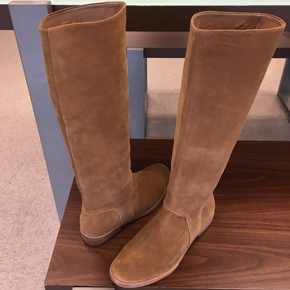 0b66028d875 UGG Shoes | New Daley Suede Chestnut Tall Boots Sale | Poshmark