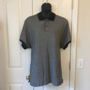 Old Navy Patterned Jersey Polo