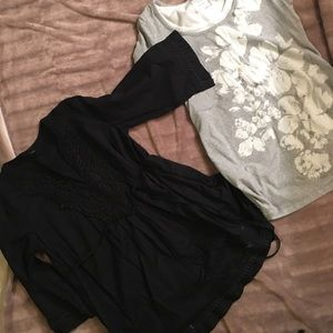 Tops - Two maternity shirts