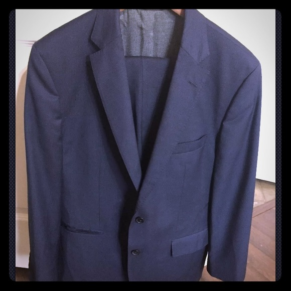 db2259b49 Hugo Boss Suits & Blazers | Boss Jewelslinus Trim Fit Check Wool ...