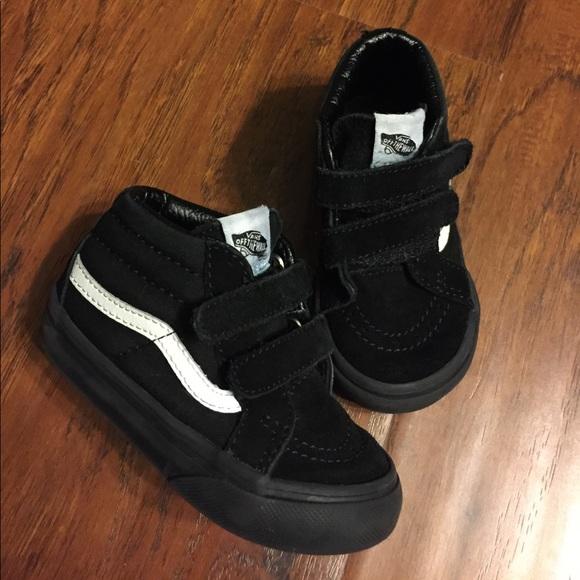 Vans Shoes | Toddler Black Vans