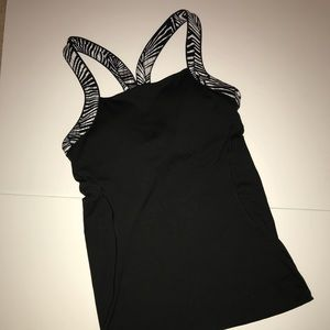 Victoria Secret Black workout tank