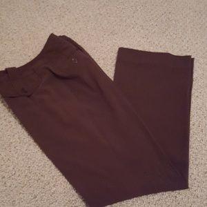 Larry Levine Brown dress pants.