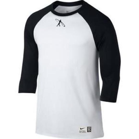 307fbe55bd0 Nike Shirts | Nwot Swingman Baseball Tee | Poshmark