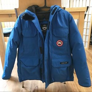 Canada Goose Youth Royal PBI Expedition Parka