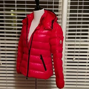 Moncler Bady Red Laquer jacket coat
