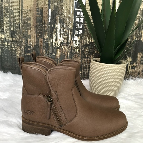 2db2c7c193a New Women's UGG Lavelle Leather Boots.