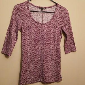 Victoria's secret purple lace tee