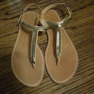 American Eagle Flats Sandals
