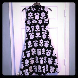 NWT Black/white floral Orla Kiely size 2 dress