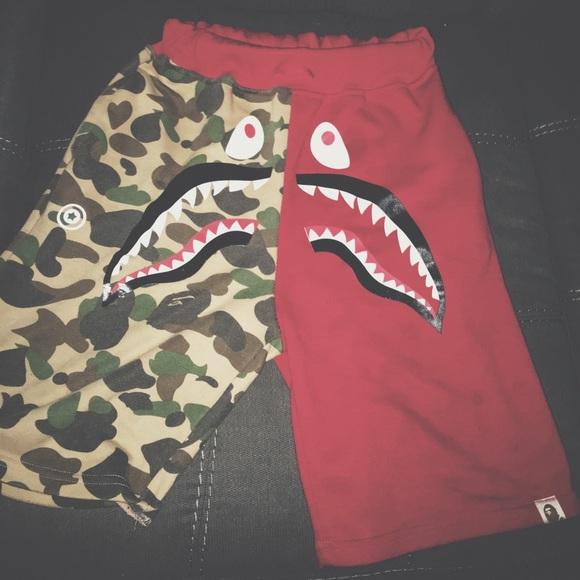 aec7070d7df Bape Shorts