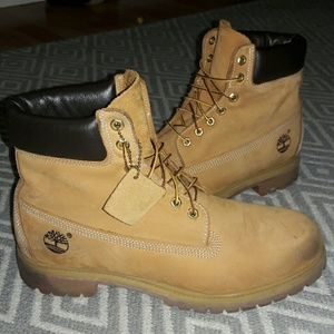 Timberland boots men's size 11.5