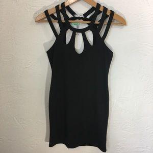Papaya NWT black dress