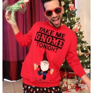 Sweaters Take Me Gnome Tonight Unisex Christmas Sweater Poshmark