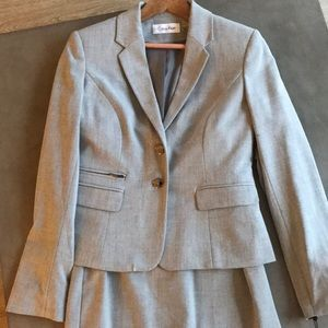 Calvin Klein skirt suit set