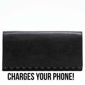 Leather Smart Clutch