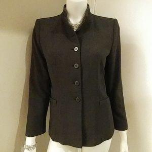 Classic Armani Collezioni Wool Blend Jacket