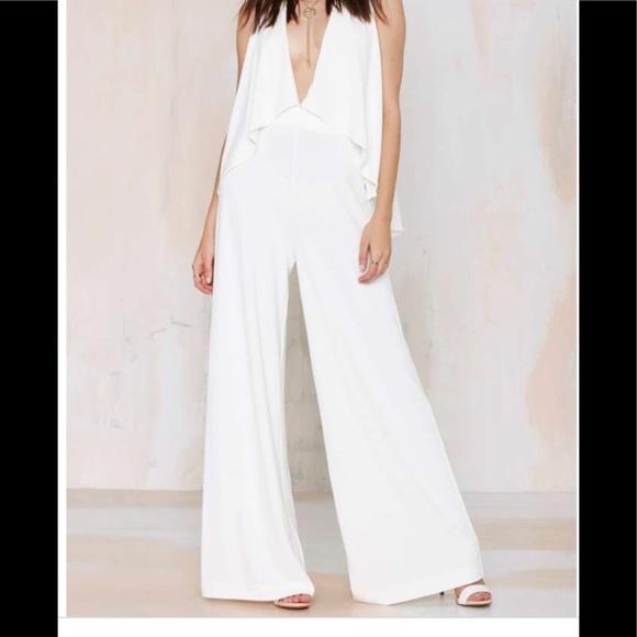 Winter white jumpsuit e90f5572f99a