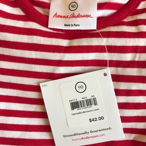 Hanna Andersson Dresses - Hanna Andersson Mixie Dress Red New NWT 90 3T