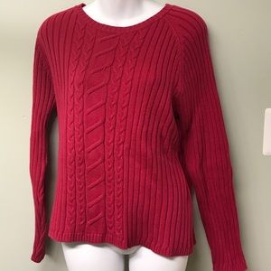 """❄️🌺❄️Style & Co """"Hot pink"""" Knit Sweater ❄️🌺❄️"""