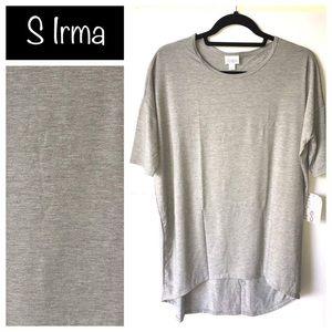 LuLaRoe Irma in solid grey. Size Small