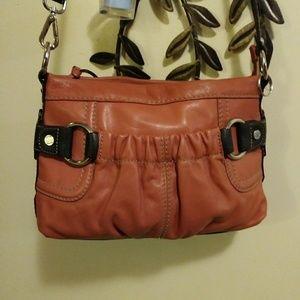Tignanello leather crossbody bag