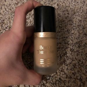 Brand New Too Faced Born this way foundation
