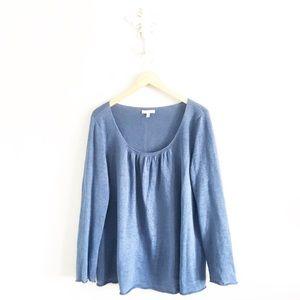Eileen Fisher Scoop Neck Linen Sweater