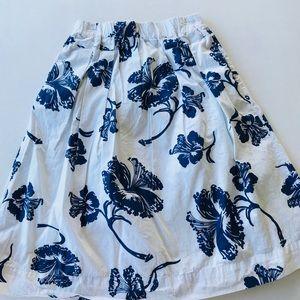 Zara Trafaluc women's skirt tropical print size M