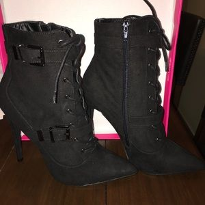 Maxwell Black Booties