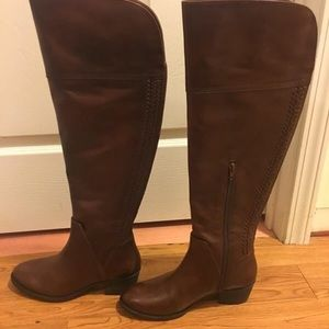 Vince Camuto Knee High Leather Boots