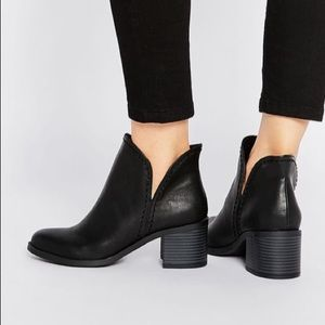 Asos Cut Out Ankle Boot